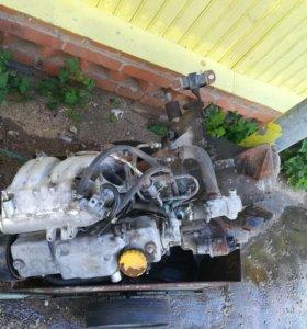 Двигатель и коробка передач ВАЗ2110-2115