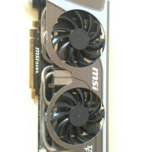 Видеокарта MSI GTX 460 HAWK не работает