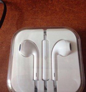 Наушники для iPhone 5,5s