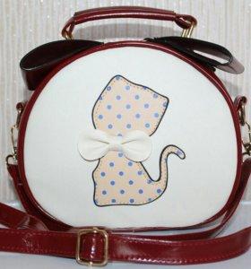 Новая сумочка с кошечкой
