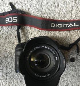 Canon 50D + обьектив 18:125 mm