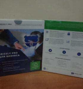 Антивирус Grizzly Pro для Бизнеса 4ПК 12 мес.