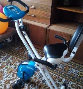 Велотренажер магнитный складной TORNEO