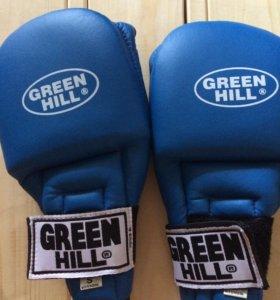 Накладки перчатки для единоборств Green Hill