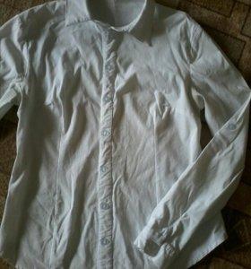 Рубашка школьная б/у