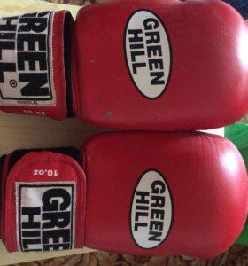 Перчатки боксерские Б\У Green Hill Tiger