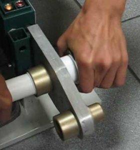 Пайка труб, сборка металлопластиковых труб