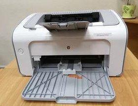 Бюджетный надежный принтер HP 1102