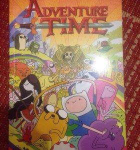 """Комикс """"Adventure time (Время Приключений)"""""""