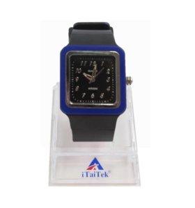 Часы наручные 039 черно-синий