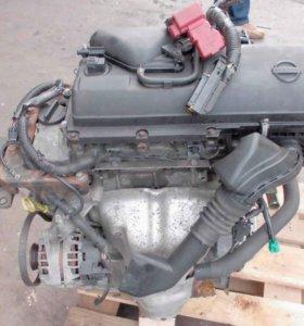 Двигатель Nissan CR12DE в разборе