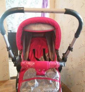 Детская коляска adamex gustaw2, ходунки