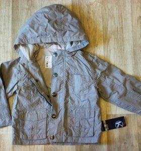 Новая куртка фирмы KIABI (2-3 года)