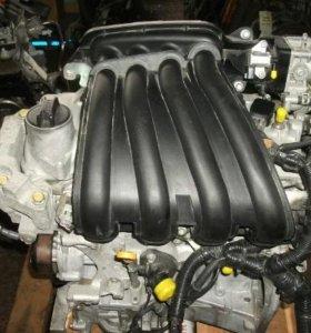 Двигатель Nissan HR15DE в разборе