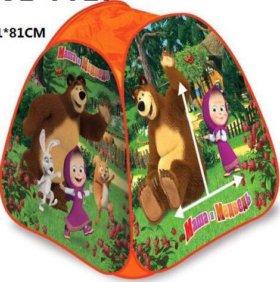 Детская палатка Маша и медведь