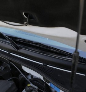 Жабо цельное Renault Duster 2015-