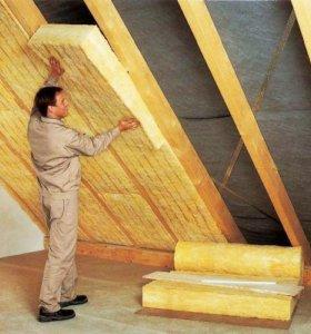 Утепление стен, крыш, фундаментов