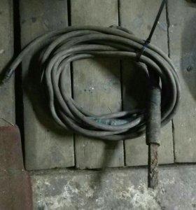 Комплект проводов сварочных 8мм медь,б/у проф.