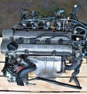 Двигатель Nissan KA24 в разборе