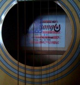 Гитара мустанг