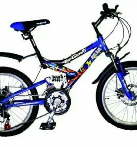 20'' Top Gear Hooligan 225 велосипед 18-скор тормо