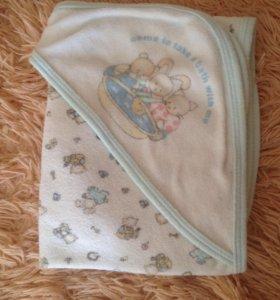 Полотенце детское уголком