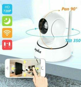 Ip камера SANNCE с Wi Fi.Видеонаблюдение.