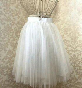 Женские юбки-пачки плиссе