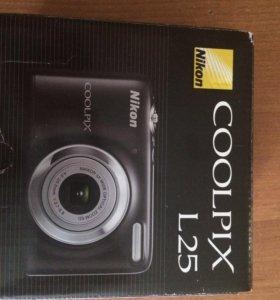 Фотоаппарат(Nikon Coolpix L25)