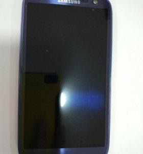 Дисплей Samsung 9300i Galaxy S3DS+тачскрин синий