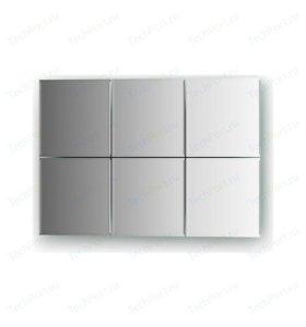 Зеркальная плитка, квадрат, шлифованная кромка
