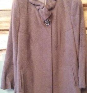 Пальто из альпаки жен. Торг