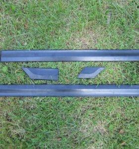 Защитные накладки на двери VW Passat B4 (молдинги)
