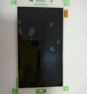 Дисплей Samsung A510F(A5 2016)+тачскрин белый