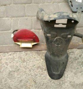 фонарь+крыло на китайский скутер