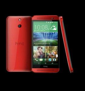 HTC e8 dual sim Red