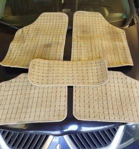 Велюровые ковры Mitsubishi outlander