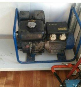 Бензо генератор в аренду