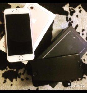 iPhone 7 розовый