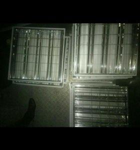 Потолочные светильники ЛВО13