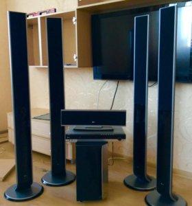 Домашний Кинотеатр с напольной акустикой LG XH-T76