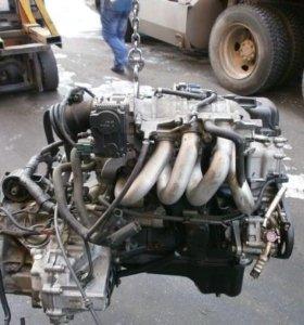 Двигатель Nissan QG13DE в разборе