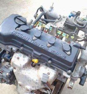 Двигатель Nissan QG18DE в разборе