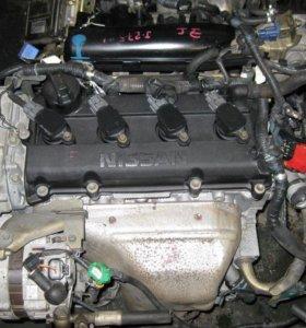 Двигатель Nissan QR20DE в разборе