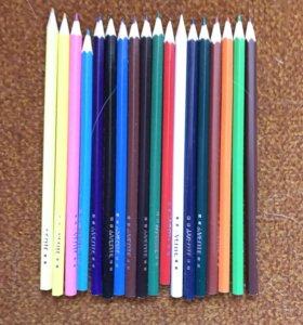 Новый набор цветных карандашей deVENTE