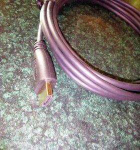 Новый HDMI шнур 3 м
