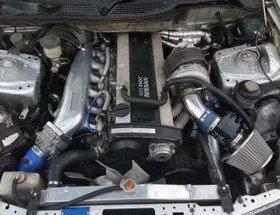 Двигатель Nissan RB25 в разборе