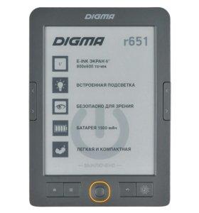 Электронная книга Digma r651