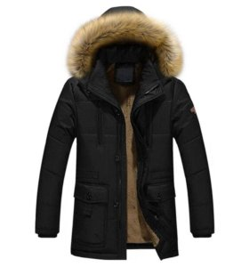"""Куртка """"Аляска"""" парка новая."""