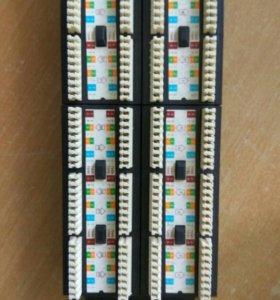 Neomax Коммутационная панель UTP, 48 портов RJ-45